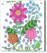 Flower Power 3 Acrylic Print