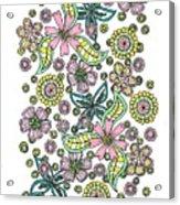 Flower Power 5 Acrylic Print