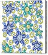 Flower Power 7 Acrylic Print