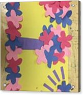 Flower Scene Acrylic Print