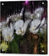 Flower Shop Window 3 Acrylic Print