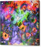 Flower Song Acrylic Print