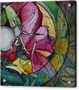 Flower Spider Acrylic Print