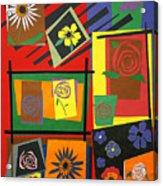 Flower Study 2 Acrylic Print by Teddy Campagna