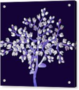 Flower Tree Acrylic Print