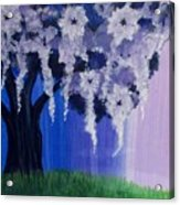 Flower Tree  Acrylic Print