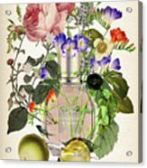 Flowerbomb Notes 3 - By Diana Van  Acrylic Print