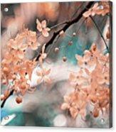 Flowering Tree. Nature In Alien Skin Acrylic Print
