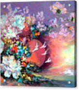 Flowers 02 Acrylic Print