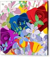Flowers 7 Acrylic Print
