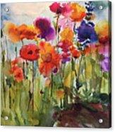 Wildflower Trail Acrylic Print