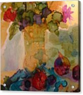 Flowers And Figs Acrylic Print