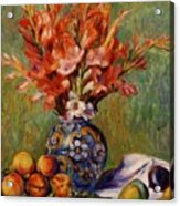Flowers And Fruit 1889 Acrylic Print