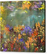 Flowers And Grasses IIi Acrylic Print