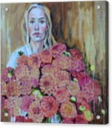Flowers Didn't Fill Her Acrylic Print