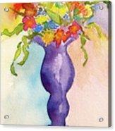 Flowers For Bobbie Acrylic Print