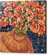 Flowers For Mary Acrylic Print
