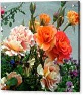 Flowers For U Acrylic Print