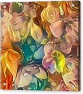 Flowers I Acrylic Print