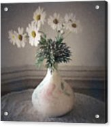 Flowers In A Pot Acrylic Print