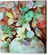 Flowers In A Vase Acrylic Print
