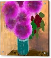 Flowers In Room Acrylic Print
