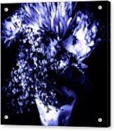 Flowers In Velvety Tones Acrylic Print
