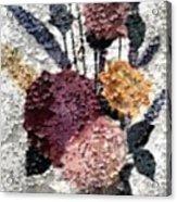 Flowers In Winter Acrylic Print