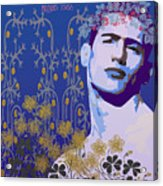 Flowers Of Lindsay Kemp Acrylic Print