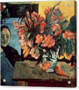 Flowers Of France Acrylic Print
