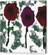 Flowers Of Love Acrylic Print