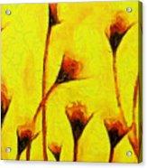 Flowers Of Love  - Van Gogh -  - Pa Acrylic Print