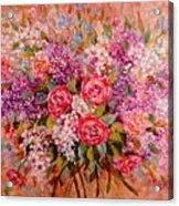 Flowers Of Romance Acrylic Print