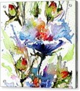 Flowers Of Summer Acrylic Print