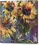Flowers Of The Gods Acrylic Print