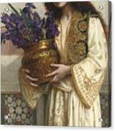 Flowers Of The Levant  Acrylic Print