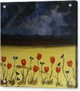 Flowers On Arran Acrylic Print