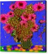 Flowers On The Table Acrylic Print