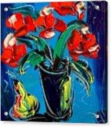 Flowers Roses Acrylic Print