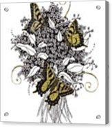 Flowers That Flutter Acrylic Print