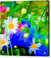 Flowers Two Acrylic Print