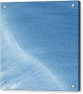 Flowing Blue Acrylic Print