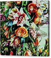 Flowing Bouquet Acrylic Print