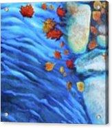 Flowing Fall Acrylic Print