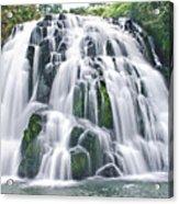 Flowing Ice Acrylic Print