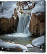 Flowing Acrylic Print