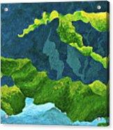 Flowing Kelp Acrylic Print