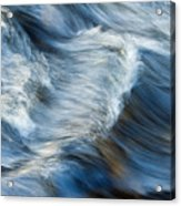 Flowing River Water Acrylic Print