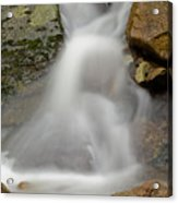 Flowing Water - Vertical Acrylic Print
