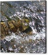 Flowing Water Acrylic Print